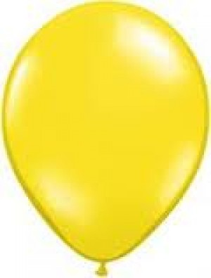 LATEX  YELLOW BALLOON